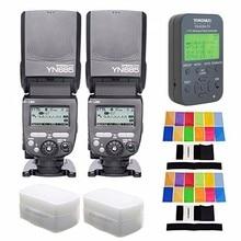 YONGNUO 2 PCS YN685-N YN685 N Sans Fil HSS TTL Speedlite Flash Construire dans Récepteur + 622N-TX Émetteur + 2 PCS Filtre Pour Nikon