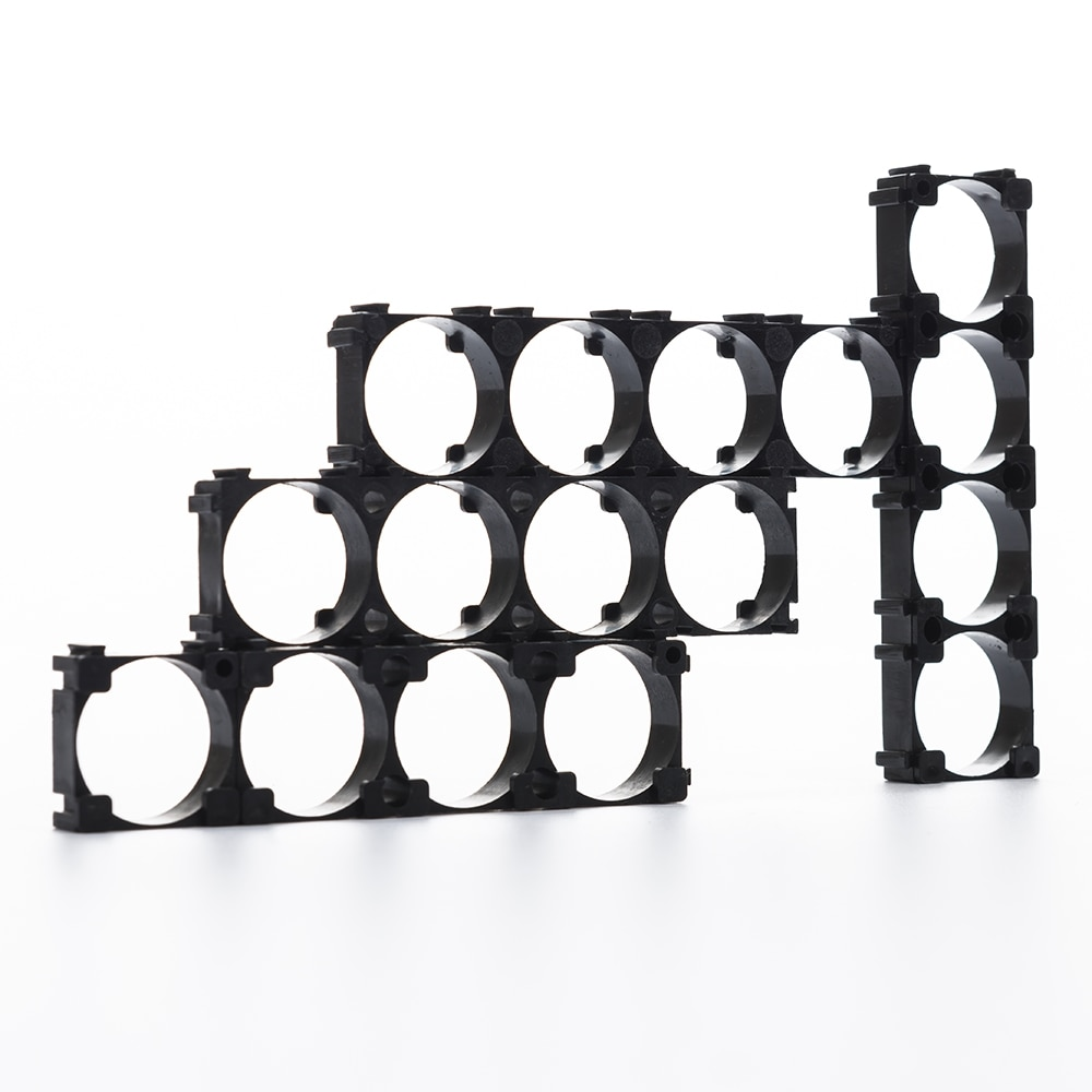 1000pcs /lot 4P 21700 battery holder DIY 21700 battery bracket spacer 91.65*24.15*9.5mm size-in Battery Accessories from Consumer Electronics    1