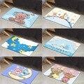 Sonst Blauen Bären Hund Gelb Sterne Jungen 3d Digital Drucken Moderne Dekorative Boden Tür Matte Wohnkultur Eingangsbereich Kinder Zimmer 50x80 cm|Teppich|   -