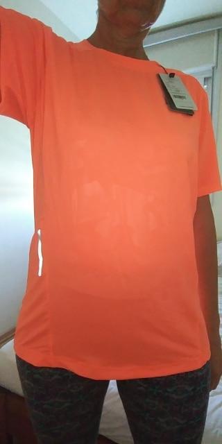 Camisetas de corrida mulheres secagem rápida