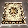 Else Желтый Черный Оранжевый персидский этнический аутентичный 3d принт микрофибра Противоскользящий задний моющийся декоративный ковер