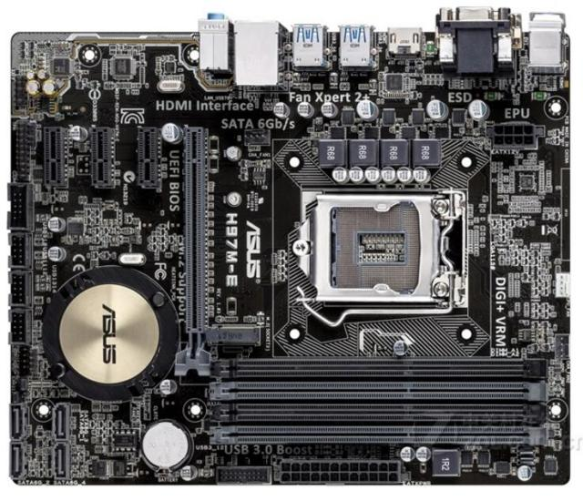 Download Drivers: Asus H97M-E