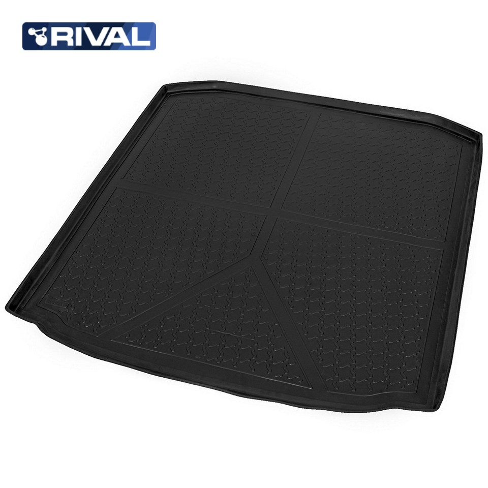 For Skoda Octavia A7 WAGON 2013-2019 trunk mat Rival 15101005 все цены