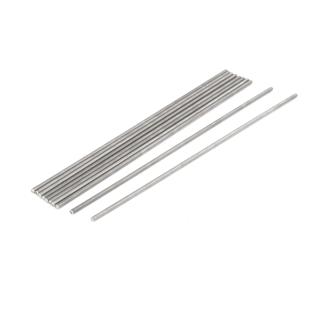 Uxcell M3 X 170mm 0 5mm Pitch 304 Stainless Steel Fully