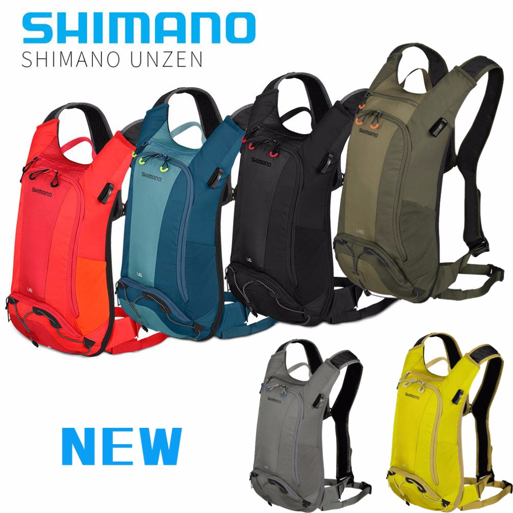 Shimano Unzen Cycling Bag 10L Hydration Pack bicycle Mochila Camel Water Bladder Bag Assault Backpack Camping Hiking Pouch lady bug dolls