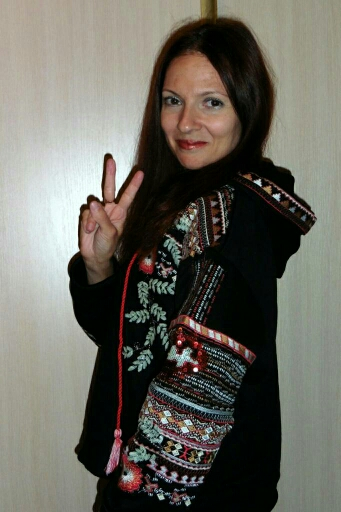 Bohemian Floral Embroidery Hoodie S-L