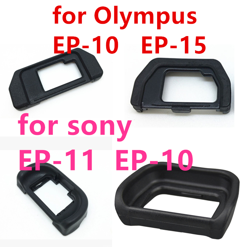 3pcs/lot EP-10 EP-11 EP-15 Rubber Eye Cup Eyepiece <font><b>Eyecup</b></font> for <font><b>sony</b></font> and for Olympus EM5 <font><b>A6000</b></font> A7 EM10II A5100 A6300 SLR Camera image