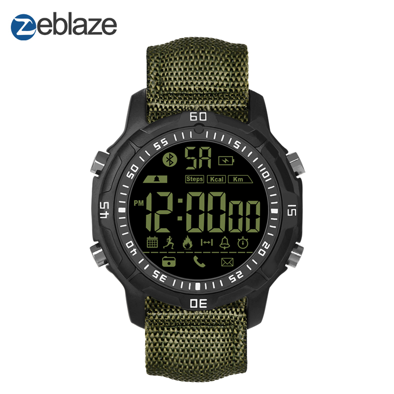 New Zeblaze VIBE 2 Sports Smartwatch 5ATM Waterproof 540 Days Stand-by Time Sports Smart Watch For Android And IOS