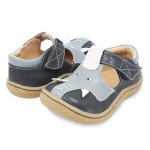 Image 5 - Tipsietoes Barefoot Kinderen Mary Jane Kinderschoenen Jongens Olifant Sneaker Fashion Sport Kind Causale Echt Lederen
