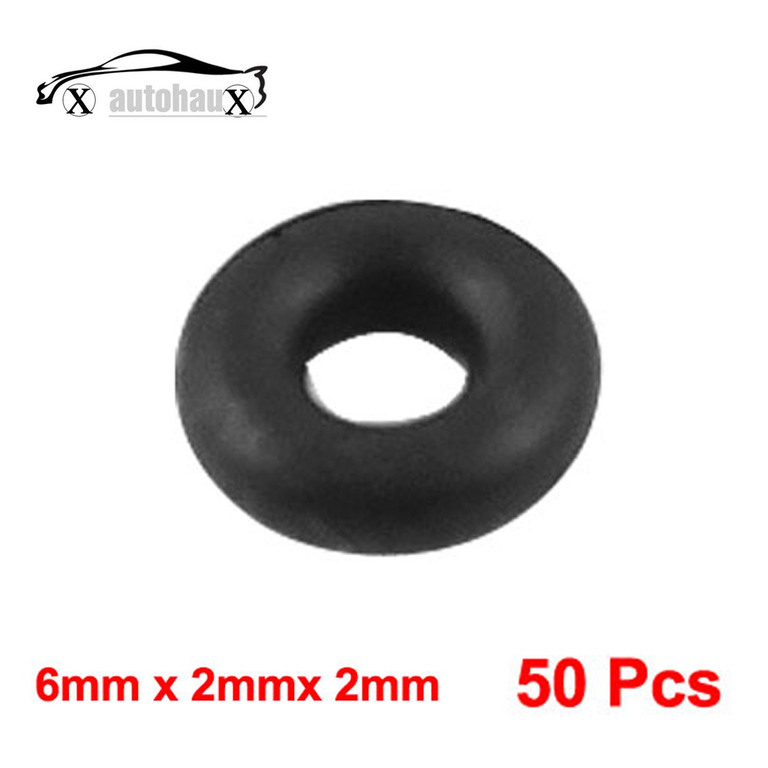 X AUTOHAUX 10pcs Green Universal Rubber O-Ring Sealing ... on