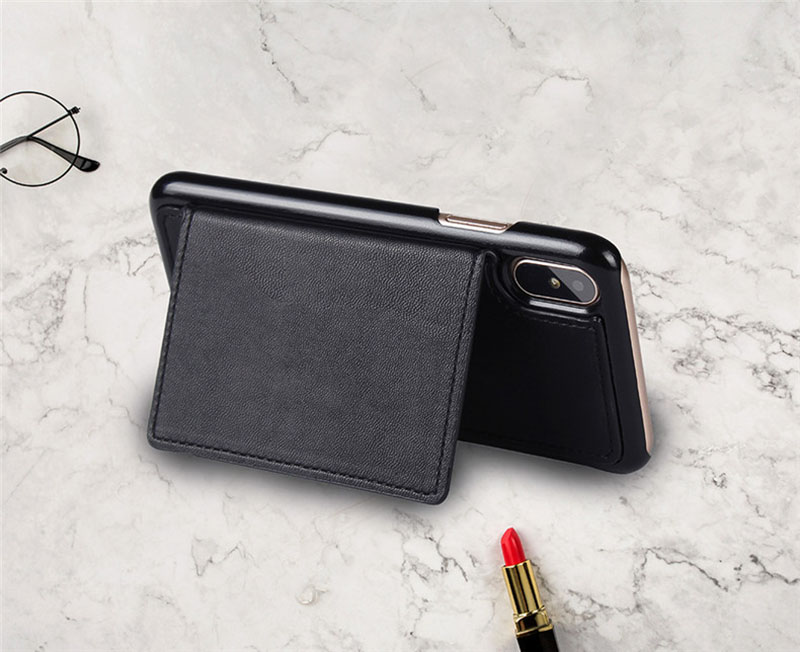 4 in 1 Leather Wallet Bag Case for iPhone X 6 6s 7 8 Plus Detachable Phone Cover Card Slot Girl Women Shoulder Bag Handbag Pouch (34)