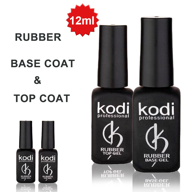 Kodi POLYGEL UV Resin nail gel nail polish Primer rubber base Coat ...