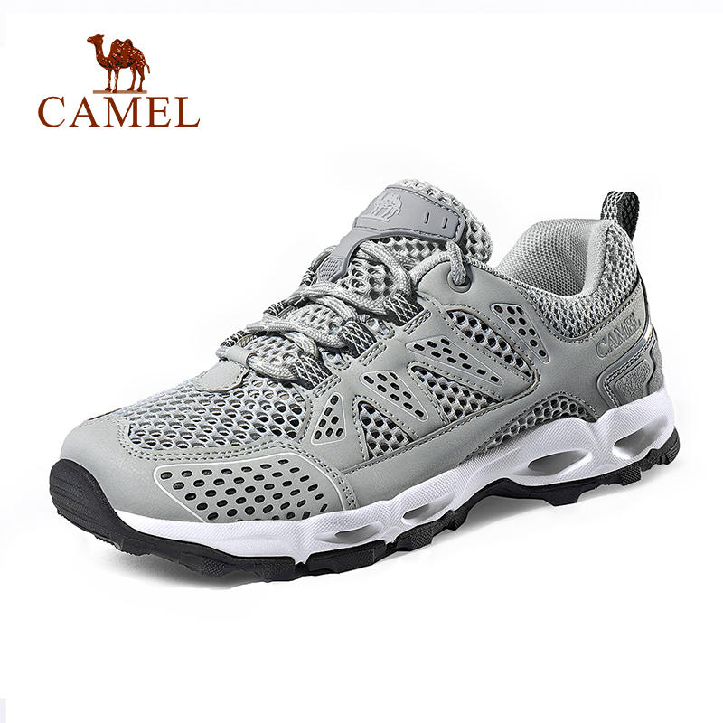 CAMEL Men Women Outdoor Mesh Hiking Shoes Non slip Breathable High Quality Outdoor Hiking Trekking Trail