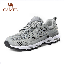 CAMEL Men Women Outdoor Mesh Hiking Shoes Non-slip Breathabl