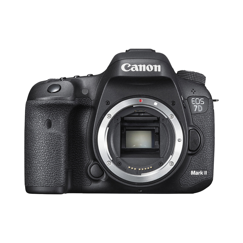 DSLR Camera Canon EOS 7D Mark II Body+W-E1 black