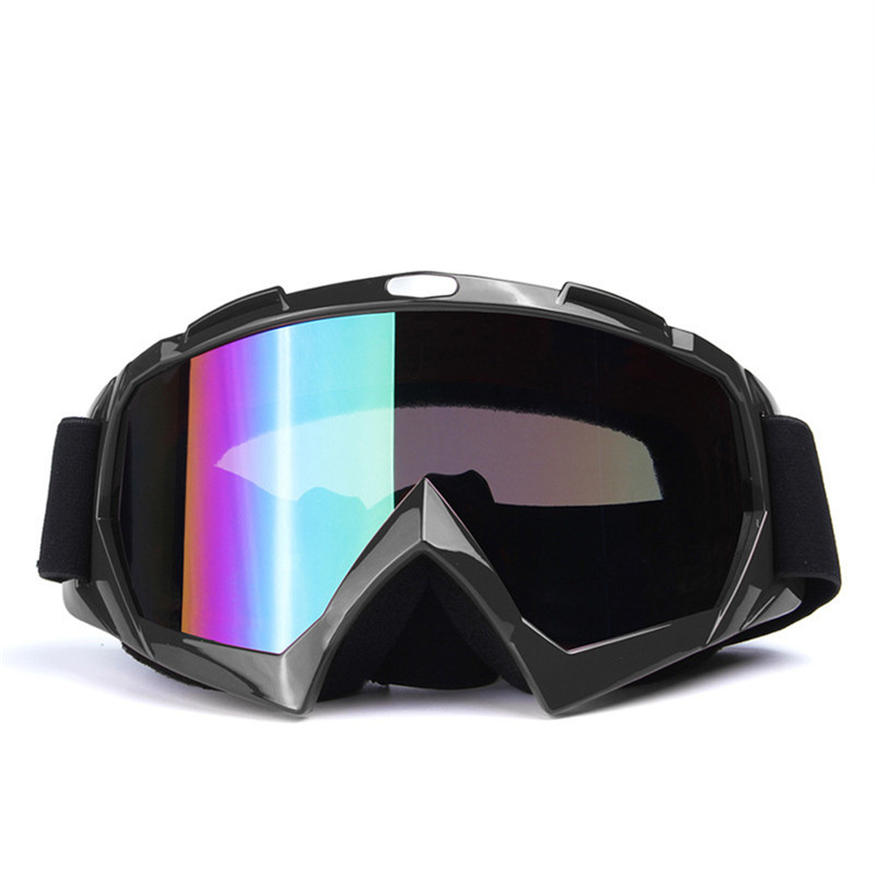 Moto Glasses Riding Glasses Cross-country Skiing Sports Helmet Ski Glasses Motorcycle Racing Skiing & Snowboarding Skiing Eyewear