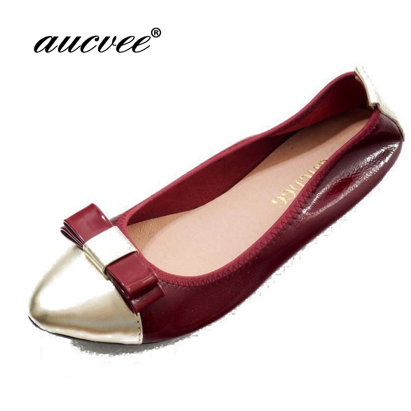 Genuine Leather Soft Bottom pointed Toe Egg Roll Shoes Women Spring Autumn Single Shoes Casual Bowknot