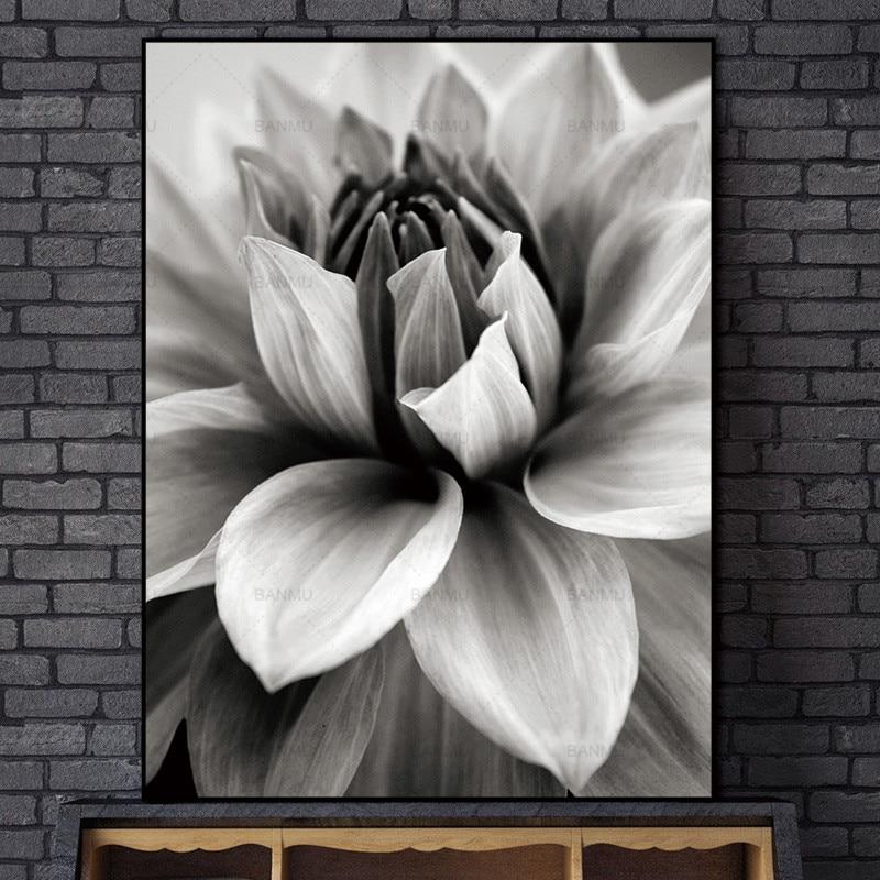 Σκανδιναβική αφηρημένη λουλούδι σε - Διακόσμηση σπιτιού - Φωτογραφία 4