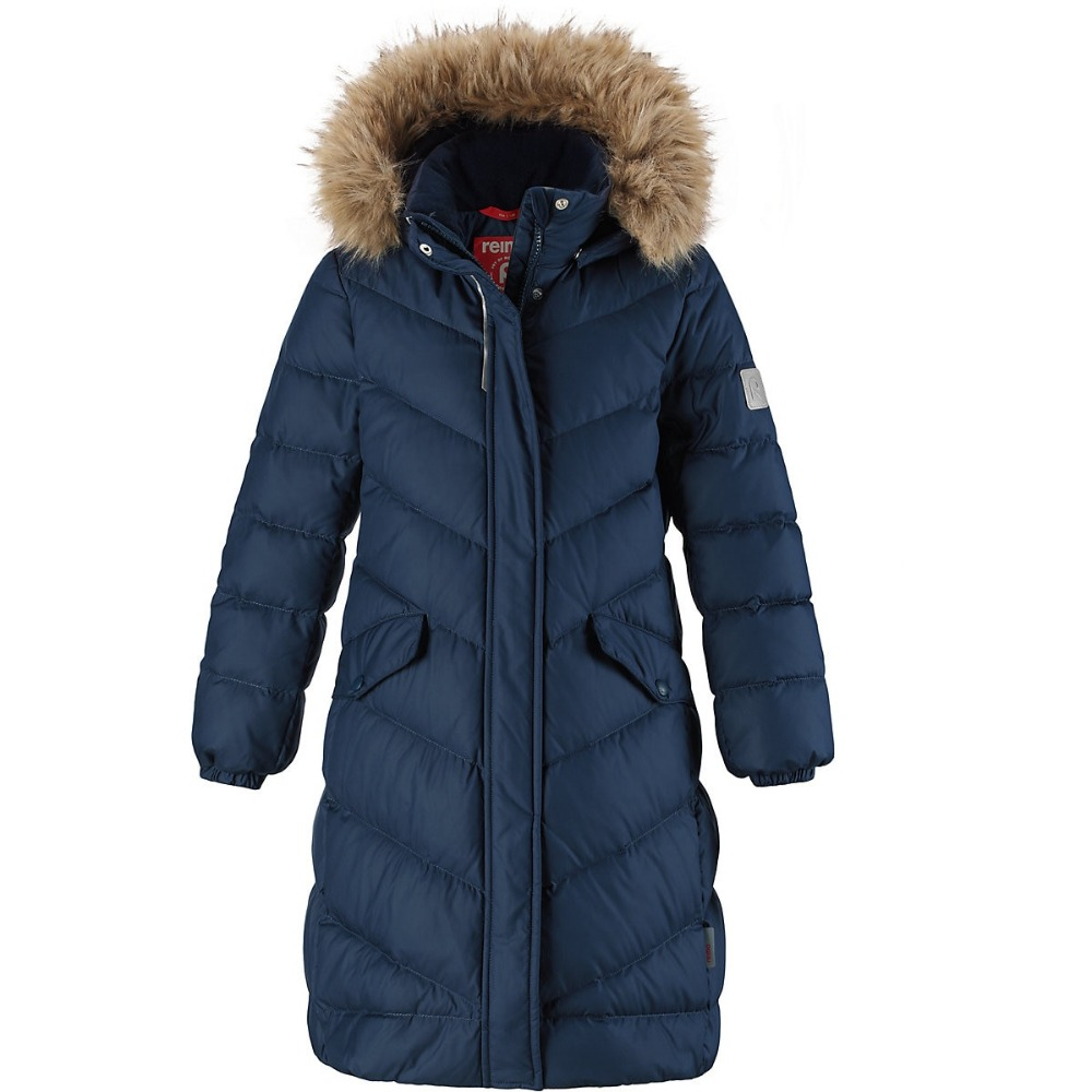 REIMA Jackets 8689437 for girls polyester winter  fur clothes girl jackets