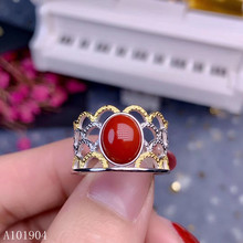 KJJEAXCMY boutique jewelry 925 sterling silver inlaid natural gemstone red coral female ring support detection v kjjeaxcmy boutique jewelry 925 sterling silver inlaid natural garnet gemstone female ring new support detection