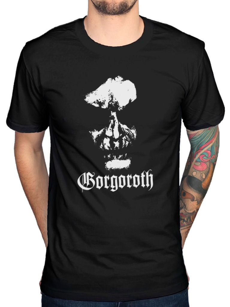Fashion Man Gorgoroth Quantos Possunt Ad Satanitatem Trahunt T-Shirt Black Metal Printed T Shirts Short Sleeve Funny Tee ...