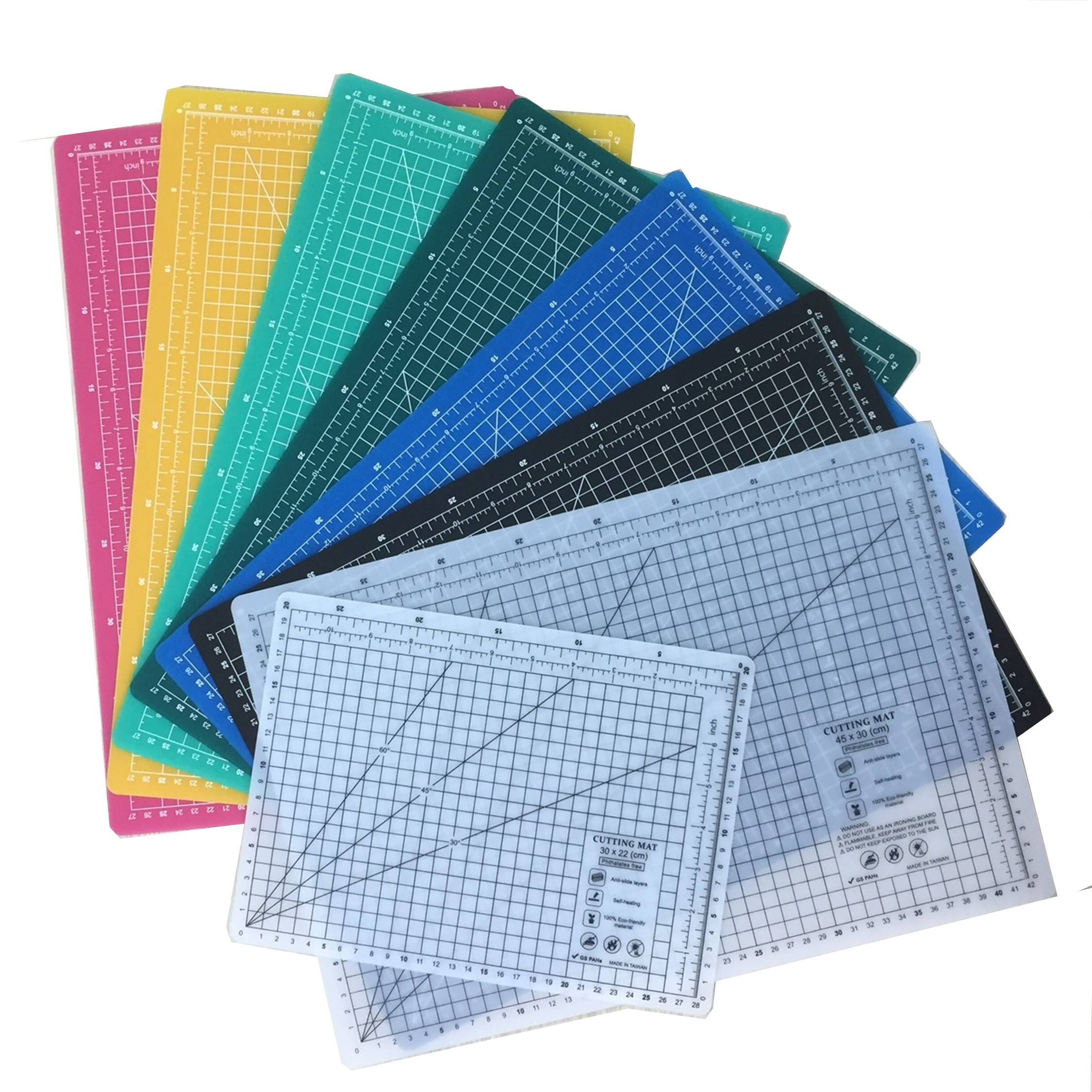 2.0 Mm Eco Friendly Cutting Mat Thinner Budget Option A1 A2 A3 A4 Size