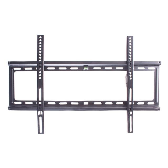 ТВ кронштейн Kromax IDEAL-1 (Фиксированный, сталь, диагональ экрана 32-90 дюймов/81-229 см, макс нагрузка 55 кг, расстояние от стены 23 мм, встроенный водяной уровень)