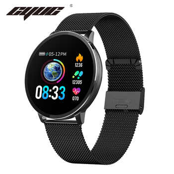 CYUC NY03 Smart Watch IP68 waterproof Heart rate monitor Smartwatch Message reminder Fitness tracker For Android and IOS - DISCOUNT ITEM  32% OFF All Category