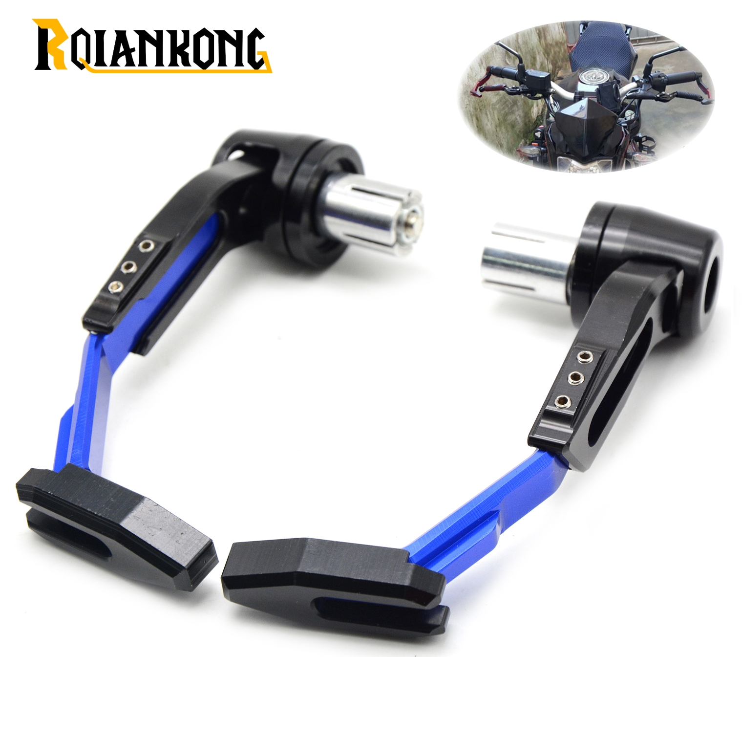 Universal 7/822mm Motorcycle Handlebar Clutch Brake Lever Protect Guard for Yamaha XV 950 R ABS/Racer YBR 125 tmax500 tmax530 for 22mm 7 8 handlebar motorcycle dirt bike universal stunt clutch lever assembly cnc aluminum