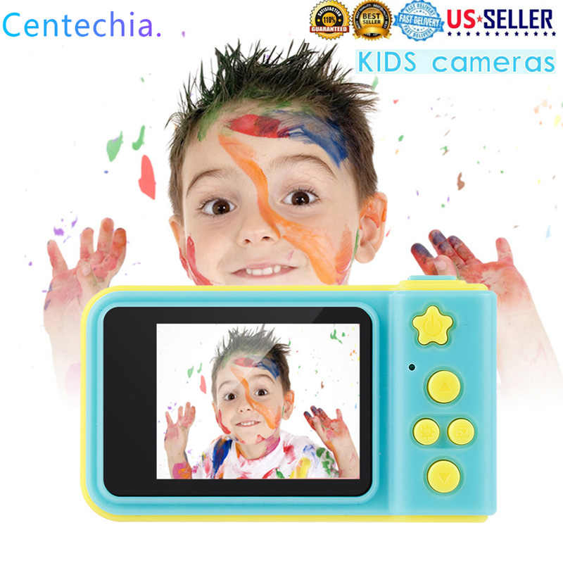 Children Mini Digital Camera Professional Photo Video Camera Portable Full HD 1080P LCD Display Kids Birthday Gift Dslr Camera