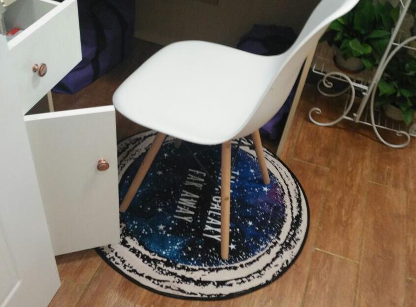 80x80cm Creative Galaxy Star Carpet Rug Decorative Living Room Anti Slip Mat  Chair Mat Rug Indoor Household  In Carpet From Home U0026 Garden On  Aliexpress.com ...