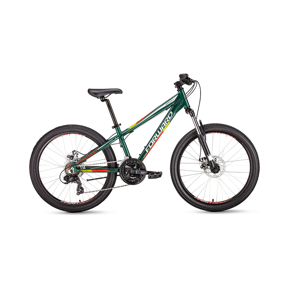 Bicycle FORWARD TWISTER 24 2.0 disc (24 21 IC. Height 13 ) 2018-2019 велосипед forward titan 24 2 0 disc 13 красный