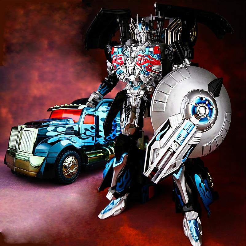 Transformation KBB TF Dark Black OP Commander AD31 Alloy Metal Oversize Movie Edition Action Figure Robot