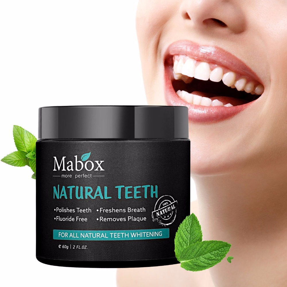 Activated Charcoal Natural Teeth Whitening Powder,Remove coffee stains, Organic Teeth Whitener, Freshens breath 4