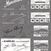 Mercedes w202 c180 c200 c220 c300 c320 c420 c500 c200 cdi наклейка на оконное стекло наклейки для стены