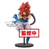 Original Banpresto Dragon Ball GT DBZ SSJ4 Gogeta Goku Bing Bang 10 Kamehameha PVC action figure model Figurals Dolls