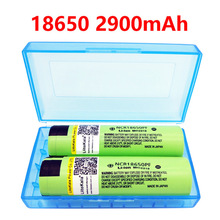 2 PCS liitokala lii – 29 pf 18650 2900 mah NCR18650PF discharging rechargeable 'for flashlight, 10 a of the electronic cigarette
