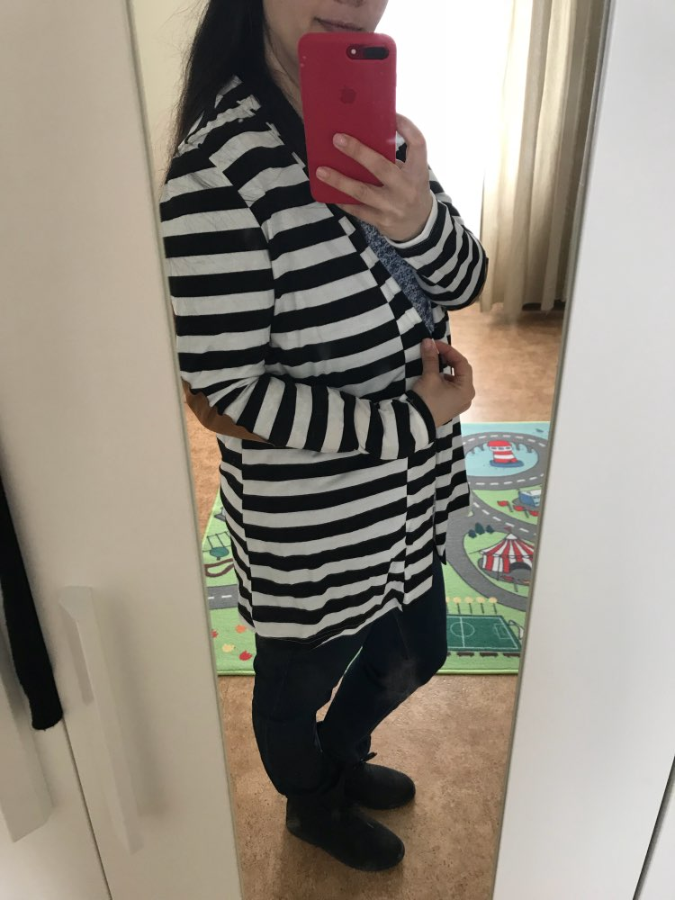 Cute Striped Cardigan photo review