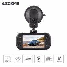 Azdome DAB201 Автомобильный видеорегистратор Камера Ambarella A12 чип HD 1440 P 30fps видеорегистратор g-сенсор HDR ADAS цикл записи регистраторы H40