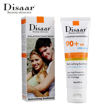 Disaar Whitening Sunscreen Cream SPF90PA++ Moisturizing Whitening Cream Face Cream Facial Body SPF90 Sunscreen Cream 80g