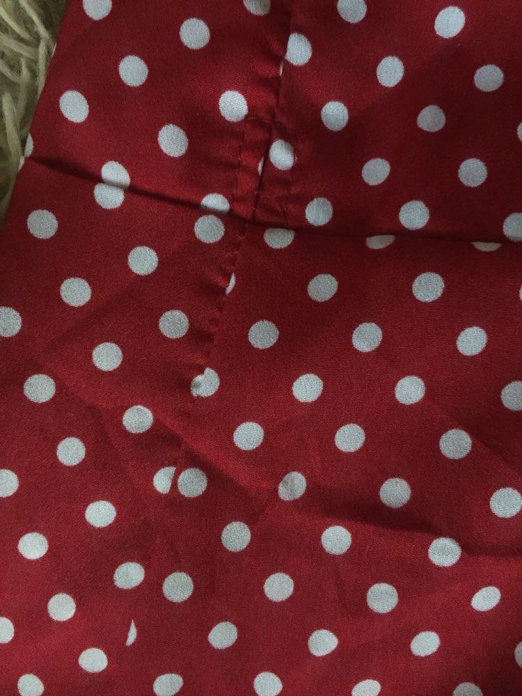 Summer Women Ruffled V Collar Sleeveless Sling Dress Popular Polka Dot Prints Irregular Ruffled Holiday Vestidos photo review