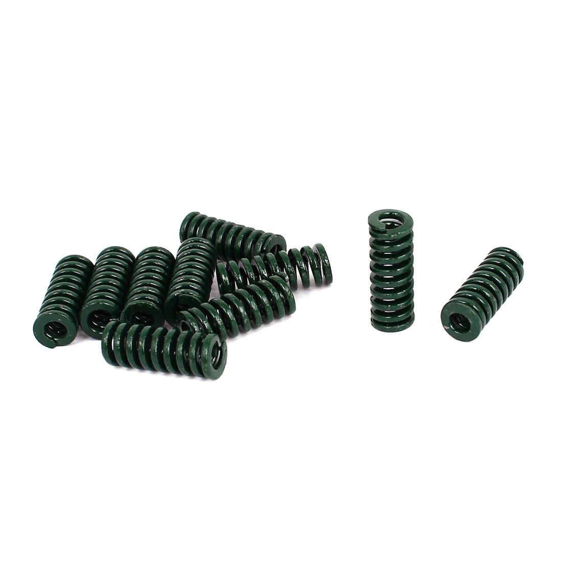 UXCELL 35Mm X 10Mm 5Mm Metal Tubular Section Mould Die Compression Spring 10Pcs