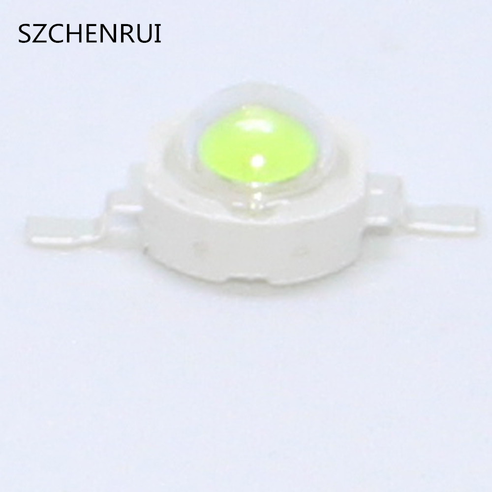 10PCS High Power LED Light Ice Blue 480nm 490nm Led 1w 3w LED BULB  Flashlight LED Light Bar Fiashlights
