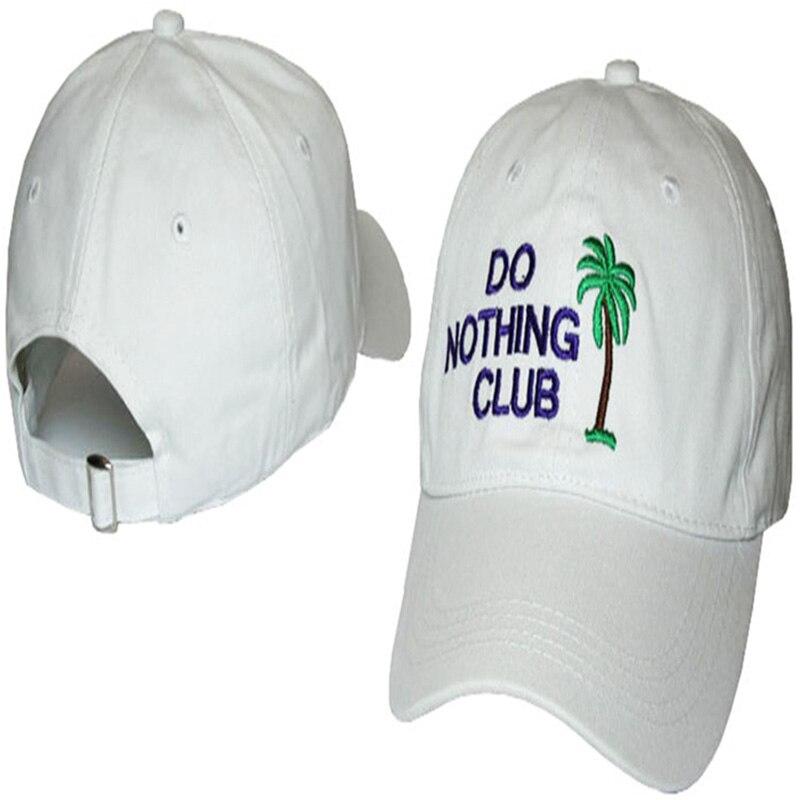 Pkorli 2018 Dad Hats do Nothing Club Baseball Cap Hip Hop Men Women Cotton Sanpback Bone MenS Summer Caps Gorra Hombre
