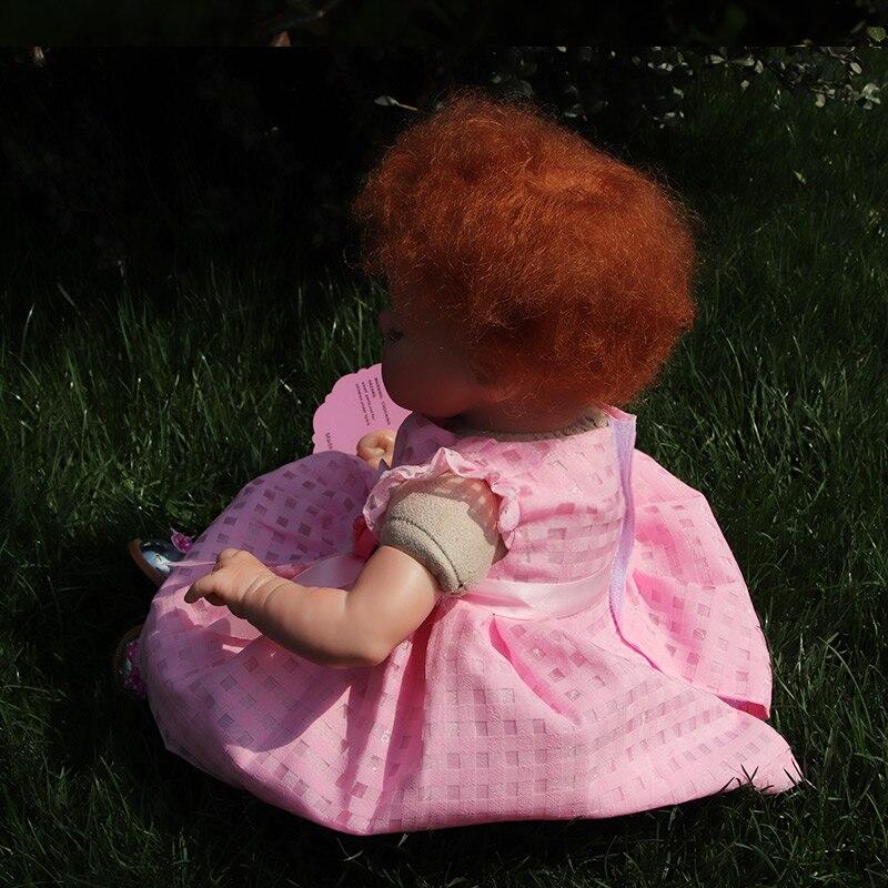 Nueva Moda17 Pulgadas Reborn Muñecas de Silicona de Cuerpo Completo - Muñecas y accesorios - foto 4