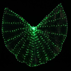 Image 3 - Hot Selling Bellydancing LED Isis Wings Nice Oriental Dance Accessory LED Wings Sexy Stage Show Props Wings 5 colors