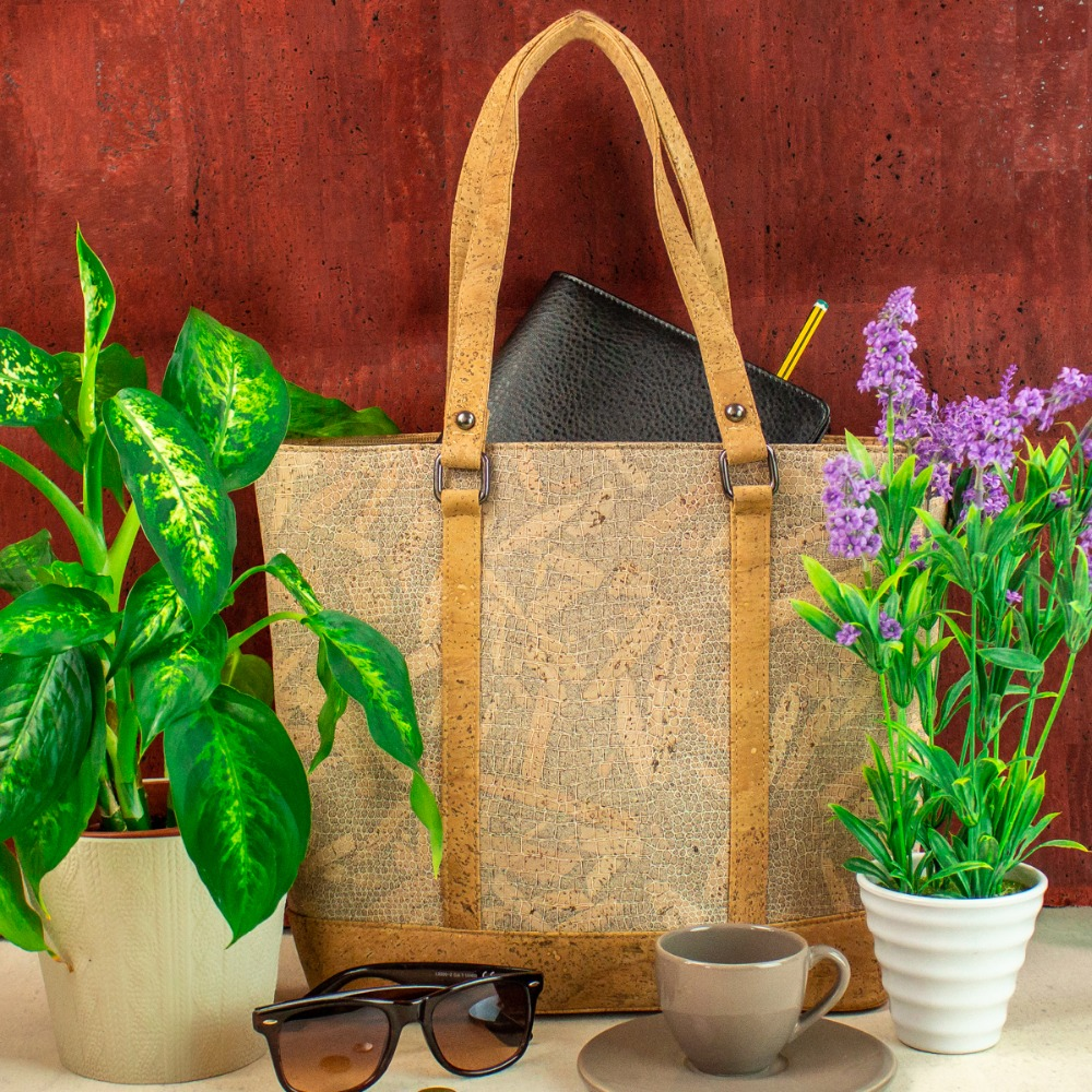 Cork bags cork handbag for women natural cork with White wood grain cork handmade Original fashion handbag BAG-318-C цены онлайн