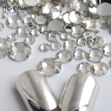 Clear Flatback Resin Rhinestones Mixed Sizes 2~6.5MM 2000pcs Nail Art Non Hotfix Stones For Nails Sticker Beauty Tools DIY hot sale 2000pcs 1 5mm nail art decorations 3d clear transparent round glitter diy nails sticker rhinestones beauty tools me88