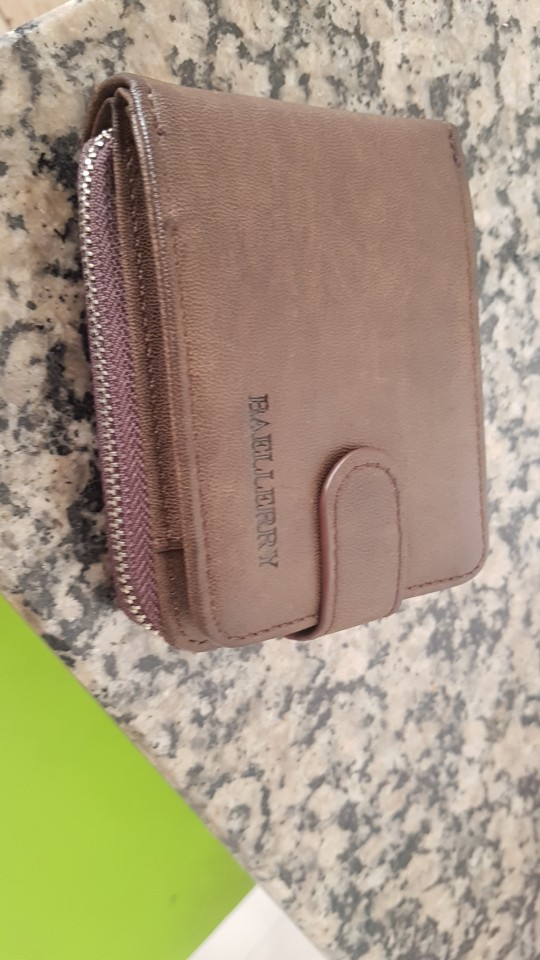 Baellerry Men's Credit Card Holder Concertine Fold Extendable Design High Quality PU Leather Male ID Cards Case Wallet Purse Bag photo review