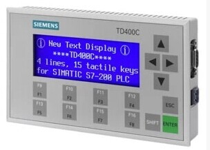 Text display TD400C 6AV6 640 0AA00 0AX0 panel display screen HMI with RS232 RS485 RS422 for